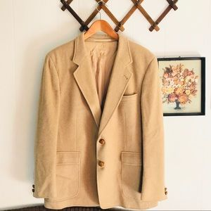 Egon Von Furstenberg Wool Sports Coat Blazer